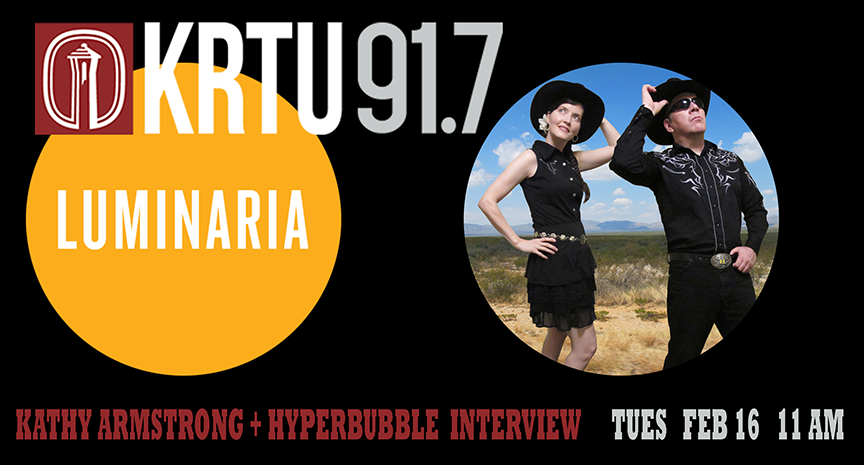 Hyperbubble live on KRTU 91.7 FM
