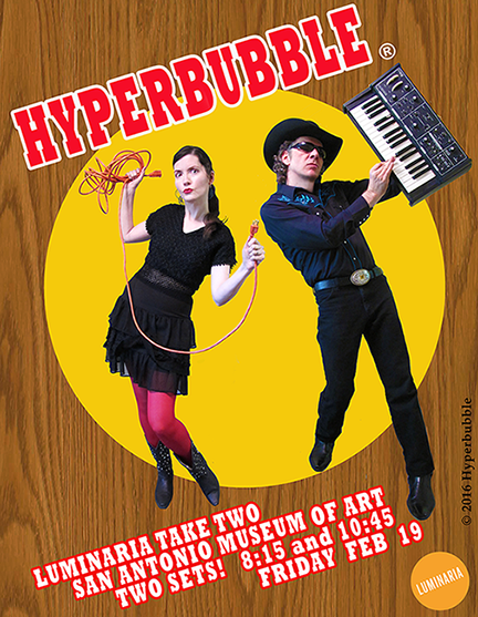 Hyperbubble live at the Museum of Art