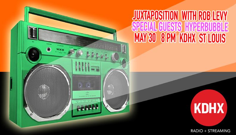 Hyperbubble LIVE on KDHX FM St Louis