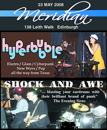 Hyperbubble live in Edinburgh Scotland 2008