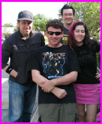 Freezepop + Jeff from Hyperbubble