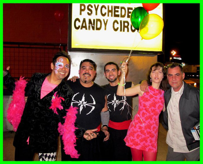 Hyperbubble live at The Psychedelic Candy Circus