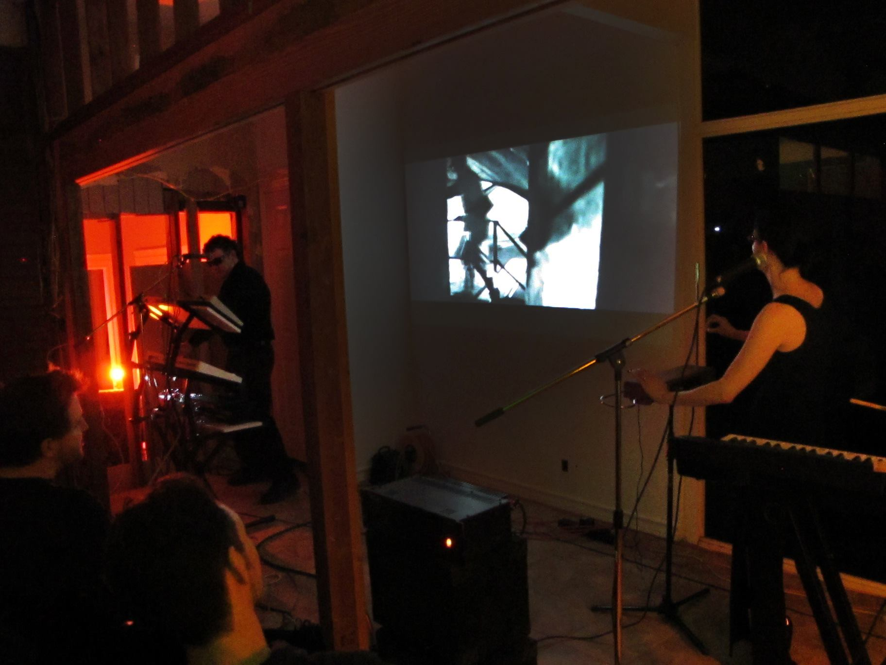 Hyperbubble Double Feature CD release sneak preview performance 2014