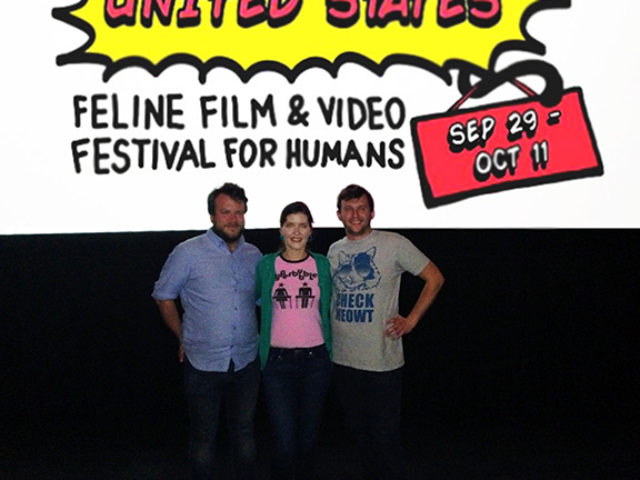 Feline Film Fest First Place!