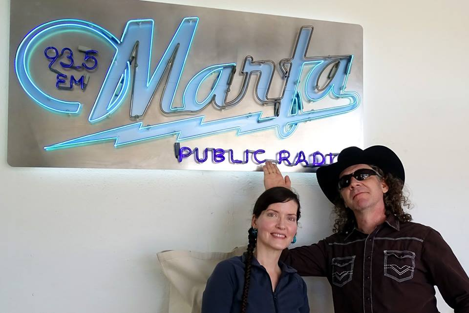 Hyperbubble at Marfa Public Radio 93.5 FM